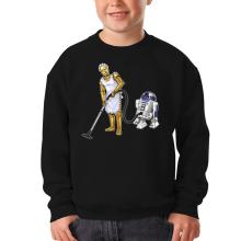 Sweat-shirts  parodique R2-D2 et C-3PO : Le grand ménage de Printemps :) (Parodie )