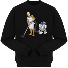 Pulls  parodique R2-D2 et C-3PO : Le grand ménage de Printemps :) (Parodie )