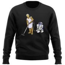 Pull  parodique R2-D2 et C-3PO : Le grand ménage de Printemps :) (Parodie )