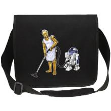 Sacs bandoulière Canvas  parodique R2-D2 et C-3PO : Le grand ménage de Printemps :) (Parodie )