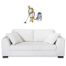 Décorations murales  parodique R2-D2 et C-3PO : Le grand ménage de Printemps :) (Parodie )