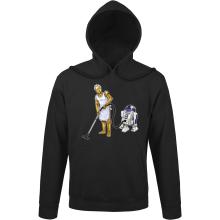 Sweats à capuche  parodique R2-D2 et C-3PO : Le grand ménage de Printemps :) (Parodie )