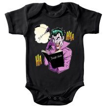 Body bébé  parodique Le Joker de Batman et le Death Note : Le Joke Note... (Parodie )