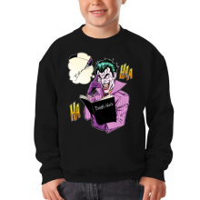 Sweat-shirts  parodique Le Joker de Batman et le Death Note : Le Joke Note... (Parodie )