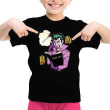 T-shirts  parodique Le Joker de Batman et le Death Note : Le Joke Note... (Parodie )
