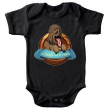 Body bébé  parodique Chewbacca : Le Meilleur Ami de l