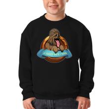 Pull Enfant  parodique Chewbacca : Le Meilleur Ami de l