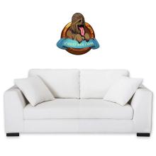 Sticker Mural  parodique Chewbacca : Le Meilleur Ami de l