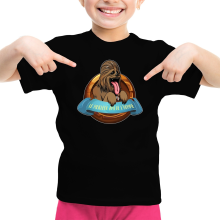 T-shirt Enfant Fille  parodique Chewbacca : Le Meilleur Ami de l
