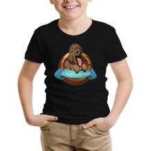 T-shirt Enfant  parodique Chewbacca : Le Meilleur Ami de l