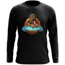 T-Shirt à manches longues  parodique Chewbacca : Le Meilleur Ami de l