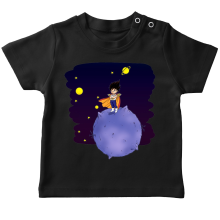 T-shirts  parodique Végéta le petit prince Saiyan : Le Petit Prince de l