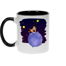 Mugs  parodique Végéta le petit prince Saiyan : Le Petit Prince de l
