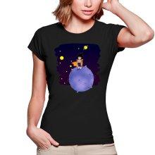 T-shirts Femmes  parodique Végéta le petit prince Saiyan : Le Petit Prince de l