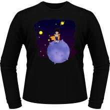 T-Shirts à manches longues  parodique Végéta le petit prince Saiyan : Le Petit Prince de l