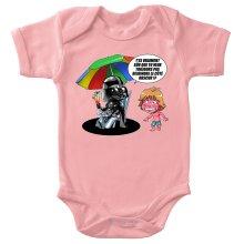 Body bébé (Filles)  parodique Luke Skywalker, Dark Vador et le côté obscur : Le pouvoir du côté Obscur... (Parodie )