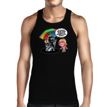 Débardeur  parodique Luke Skywalker, Dark Vador et le côté obscur : Le pouvoir du côté Obscur... (Parodie )