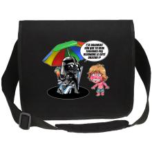 Sac bandoulière Canvas  parodique Luke Skywalker, Dark Vador et le côté obscur : Le pouvoir du côté Obscur... (Parodie )