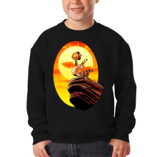 Sweat-shirts  parodique Le Roi Lion et Scrat : Le Roi des Glands - Savane (Parodie )