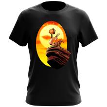 T-shirt  parodique Le Roi Lion et Scrat : Le Roi des Glands - Savane (Parodie )