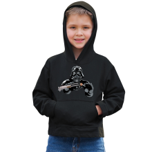 Sweat à capuche Enfant  parodique Dark Vador : Le secret de la Force ! (Parodie )