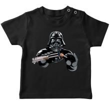 T-shirt bébé  parodique Dark Vador : Le secret de la Force ! (Parodie )