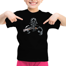 T-shirt Enfant Fille  parodique Dark Vador : Le secret de la Force ! (Parodie )