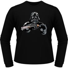 T-Shirts à manches longues  parodique Dark Vador : Le secret de la Force ! (Parodie )