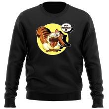 Pulls  parodique Scrat se la joue Gollum : Le Seigneur des Glands... :) (Parodie )