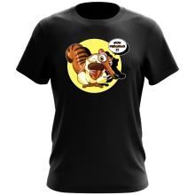 T-shirts  parodique Scrat se la joue Gollum : Le Seigneur des Glands... :) (Parodie )