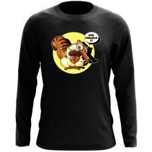 T-Shirts à manches longues  parodique Scrat se la joue Gollum : Le Seigneur des Glands... :) (Parodie )