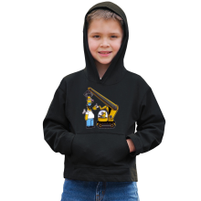 Funny  Kids Hoodie - Kévin the Minion and Homer Simpson ( Parody) (Ref:611)