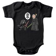 Body bébé  parodique Kylo Ren Vs Luke Skywalker : Luke, je suis ton... ;) (Parodie )