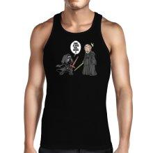Débardeur  parodique Kylo Ren Vs Luke Skywalker : Luke, je suis ton... ;) (Parodie )