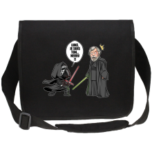 Sac bandoulière Canvas  parodique Kylo Ren Vs Luke Skywalker : Luke, je suis ton... ;) (Parodie )
