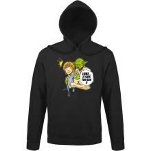 Sweats à capuche  parodique Yoda et Luke Skywalker : Luke... Je suis ton sac !! (Parodie )