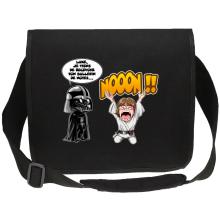 Sac bandoulière Canvas  parodique Luke Skywalker et Dark Vador : Luke Life Episode I : Un père qui craint :) (Parodie )