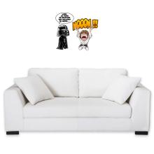 Décorations murales  parodique Luke Skywalker et Dark Vador : Luke Life Episode I : Un père qui craint :) (Parodie )