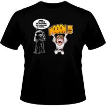 T-shirts  parodique Luke Skywalker et Dark Vador : Luke Life Episode I : Un père qui craint :) (Parodie )
