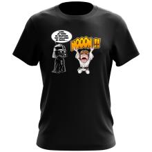 T-shirt  parodique Luke Skywalker et Dark Vador : Luke Life Episode I : Un père qui craint :) (Parodie )