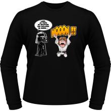 T-Shirts à manches longues  parodique Luke Skywalker et Dark Vador : Luke Life Episode I : Un père qui craint :) (Parodie )