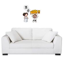 Sticker Mural  parodique Luke et Leila Skywalker : Luke Life Episode II : Une soeur indigne :) (Parodie )