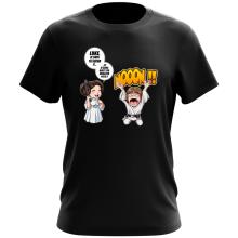 T-shirt  parodique Luke et Leila Skywalker : Luke Life Episode II : Une soeur indigne :) (Parodie )