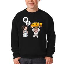 Sweat-shirts  parodique Luke et Leila Skywalker : Luke Life Episode II : Une soeur indigne :) (Parodie )