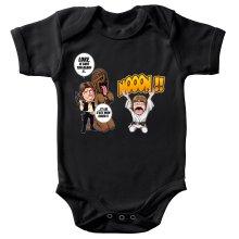 Body bébé  parodique Luke Skywalker, Chewbacca et Han Solo : Luke Life Episode III : Un beauf carrément beauf :) (Parodie )
