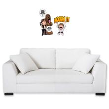 Décorations murales  parodique Luke Skywalker, Chewbacca et Han Solo : Luke Life Episode III : Un beauf carrément beauf :) (Parodie )
