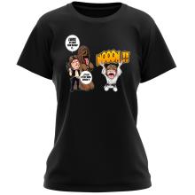 T-shirt Femme  parodique Luke Skywalker, Chewbacca et Han Solo : Luke Life Episode III : Un beauf carrément beauf :) (Parodie )