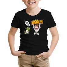 T-shirt Enfant  parodique Yoda et Luke Skywalker : Luke Life Episode IV : le Maître... (Parodie )