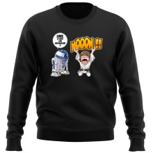 Pull  parodique Luke Skywalker et R2-D2 : Luke Life Episode V : un robot...ménager !! (Parodie )