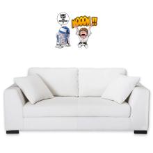 Sticker Mural  parodique Luke Skywalker et R2-D2 : Luke Life Episode V : un robot...ménager !! (Parodie )
